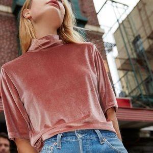 💎 J. Crew pink velvet T-shirt.💎